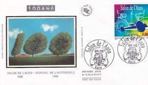 FRANCE 1998 FDC SALON DE L'AUTO  YT 3186