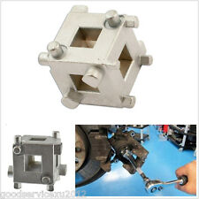 "Car DIY Rear Disc Brake Piston Caliper Wind Back Cube 3/8"" Calliper Adaptor Tool"