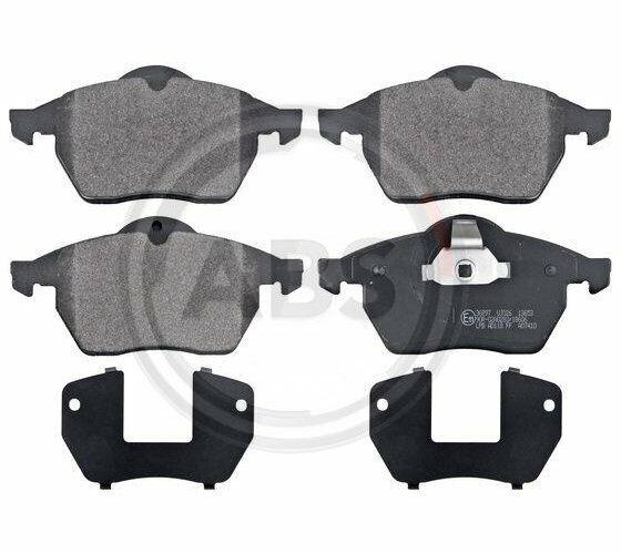 Set of Brake Pads Parking Brake Discs a. B. S.36897
