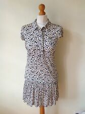 TWIN SET SIMONA BARBIERI LADIES FLORAL DRESS SIZE L - NWOT