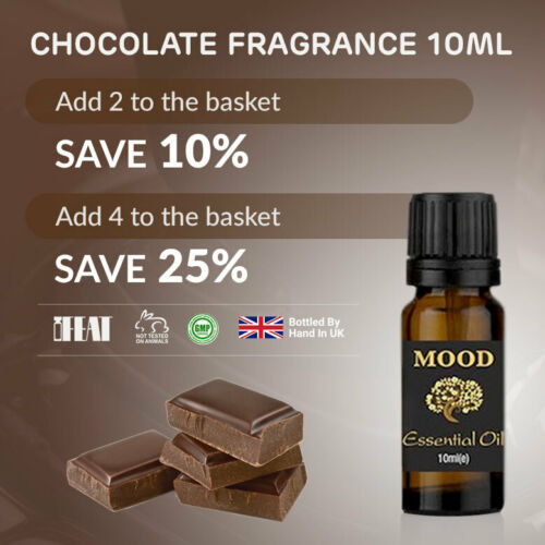 10ml Chocolate Fragrance Oil Natural Home Fragrances Diffuser Candle Soap Making by Ebay Seller