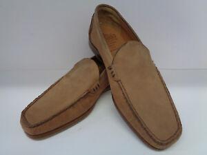 On pelle Shoes 5f Grenson chiaro Uk Cardiff Slip 7 negozio Soiled marrone Mens in qAn4CRwwx