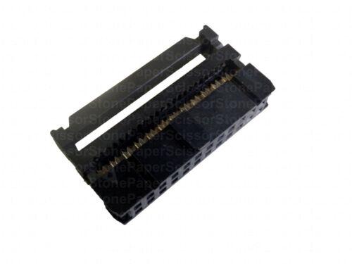 20X 24 broches 2x12 2.54 Pitch IDC femelle FC-24 Fil Tête de connecteur pour câble plat
