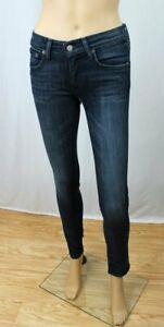 POLO by Ralph Lauren Tompkin Skinny Indigo Blue 5 Pocket Design Jeans~NWT