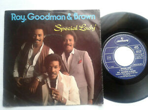 Ray-Goodman-amp-Brown-Special-Lady-7-034-Vinyl-Single-1979-mit-Schutzhuelle