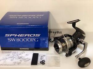 Shimano Super Tune SPHEROS SW5000HG SW8000PG SW8000HG SW6000HG SW6000PG