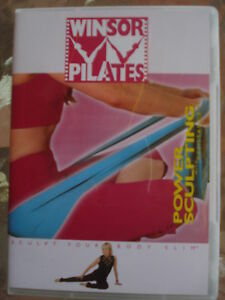 WINSOR-PILATES-POWER-SCULPTING-With-RESISTANCE-DVD-NEW-SEALED-ALL-REGIONS