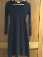 The White Company merino wool dress. Size small