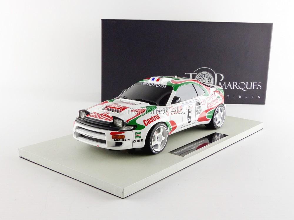 TOP MARQUES Toyota Celica GT4 Winner Tour de Corse 1994 Auriol/Occelli #5 1/18