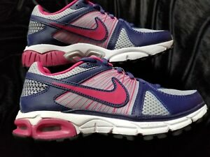 Details about +New! Womens NIKE AIR MAX MOTO +9 WOLF GRAY RASPBERRY BLUE SZ 6