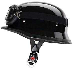 wh1 gl wehrmacht helm mit brille motorradhelm stahlhelm. Black Bedroom Furniture Sets. Home Design Ideas