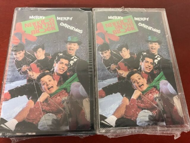 Pair 2 Merry Merry Christmas by New Kids on the Block Cassette Sep-1989 Columbia
