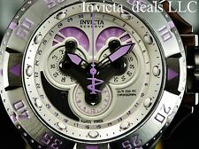 Invicta Violet Reserve Excursion Master Calendar SWISS MADE Chrono 5040F Watch