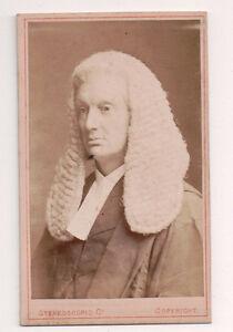 Vintage-CDV-Sir-Thomas-Chitty-1st-Baronet-British-judge-barrister-Scholar