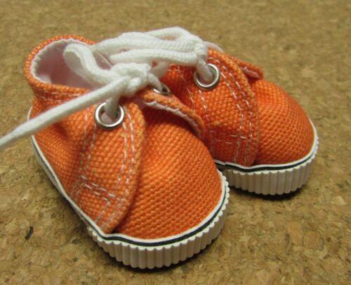 Doll Shoes 48mm Orange Sneaker fit Bitty Bethany Ann E Patsy