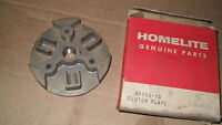 Homelite Xl100 Series Chain Saw Clutch Plate 64904 Vintage Chainsaw