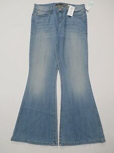 Level 99 Women's Blossom Flare Jean Light Washed Size 12 NWT ...
