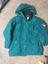Triple Fat Goose Down Filled PuffEr Jacket Parka Coat Winter Ski Men's Green XL