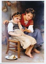 Bouguereau Print Little Sulk Petite Boudeuse Young Girl Sulking Big Sister Gift