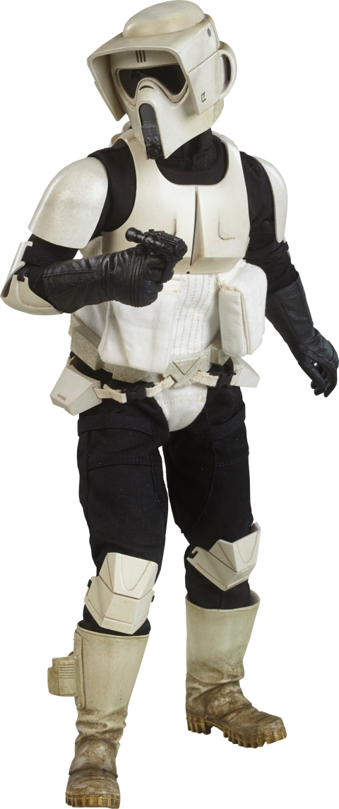 STAR WARS EP. VI Scout Trooper Sixth Scale Action Figure Sideshow Collectibles