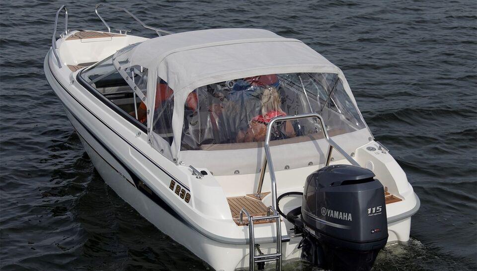 Fabriksny Yamarin 56 BowRider, Speedbåd, årg. 2018