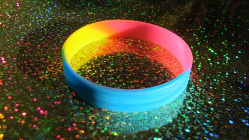 Pansexual-Muñequera Brazalete De Silicona ORGULLO LGBT