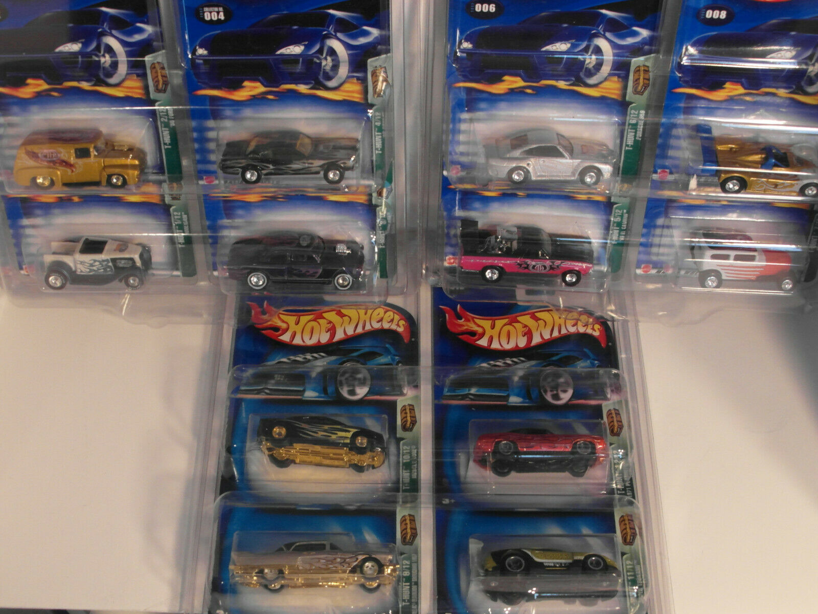 2003 HOTWHEELS HW TREASURE HUNT th Set Lot de 12