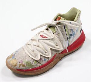 Nike Bandulu x Kyrie 5 Embroidered Splatters Hightop Sneakers Shoes Men's 10