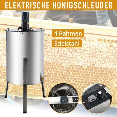 Elektrische Honigschleuder 4 Waben Tangentialschleuder Imkerei Schleuder