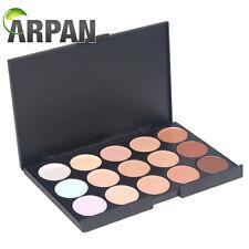 ARPAN 15 Color Contour Face Makeup Concealer Neutral Palette kit set CL-15CON