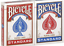 2-x-Bicycle-Playing-Cards-Decks-1-Red-amp-1-Blue-Casino-Poker-Snap-Family-Games thumbnail 2
