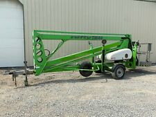 2014 Nifty Tm40hge Towable Manlift 40 Max Height 500 Lb Capacity Outriggers