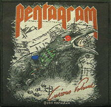 """PENTAGRAM AUFNÄHER / PATCH # 4 """"CURIOUS VOLUME"""""""