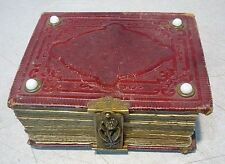 Antique Photo Album 16 Tintypes pictures and 17 CDV Photos 1860's to 1890's