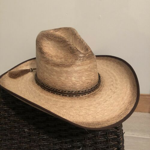 Atwood Trail Rider 4X Distressed Straw Mexican Cow