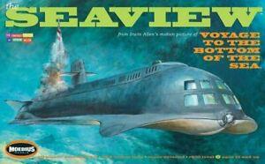 "Moebius Models 708 1:128 Seaview Submarine 8-Window 39"" Voyage Bottom of Sea NEW"