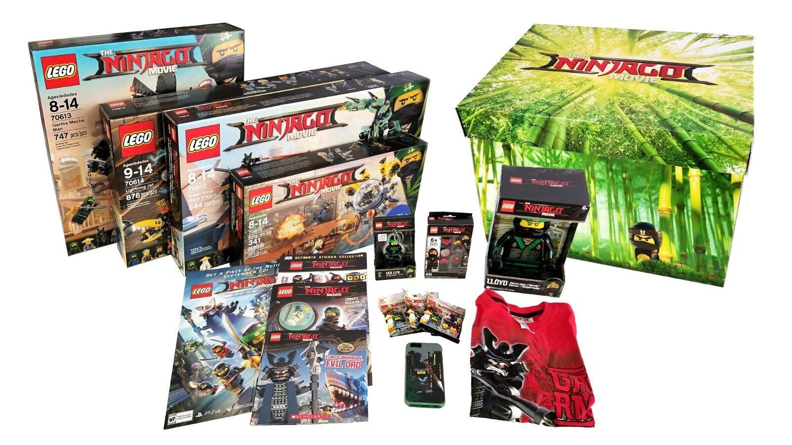 LEGO Ninjago Movie EXCLUSIVE Collectors Influencer scatola 70614  70613 70612 70610  migliori prezzi e stili più freschi