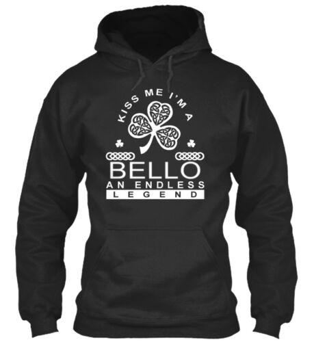 Bello-une interminable Légende-embrasse-moi je suis un Bello un Standard College Sweat à capuche