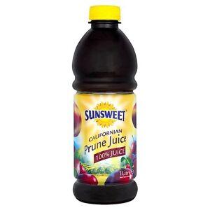 Sunsweet Prune Juice 6 X 1litre Bottles 70450113278 Ebay