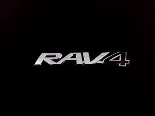 2008 TOYOTA RAV4 REAR TRUNK LID CHROME OEM EMBLEM BADGE LOGO SYMBOL SIGN 06-16