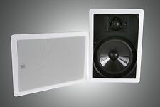 BRAND NEW DLS  IW8.2 In-Wall, Surround, Center 8-inch Speakers IW-8.2 - PAIR