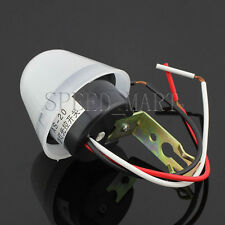 DC/AC 12V 10A Adjustable Light Sensor Auto Control Switch Day off Night on