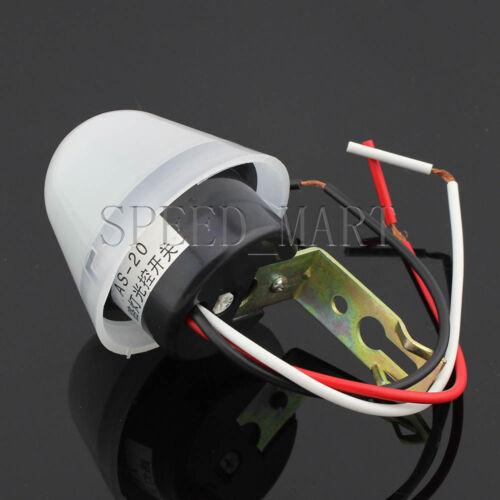 DC//AC 12V 10A Adjustable Light Sensor Auto Control Switch Day off Night on
