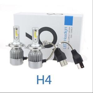 H4-LED-Car-Headlight-Kit-72W-Low-High-Beam-Bulbs-Globes-6000K-BRIGHT-OZ-SELLERS