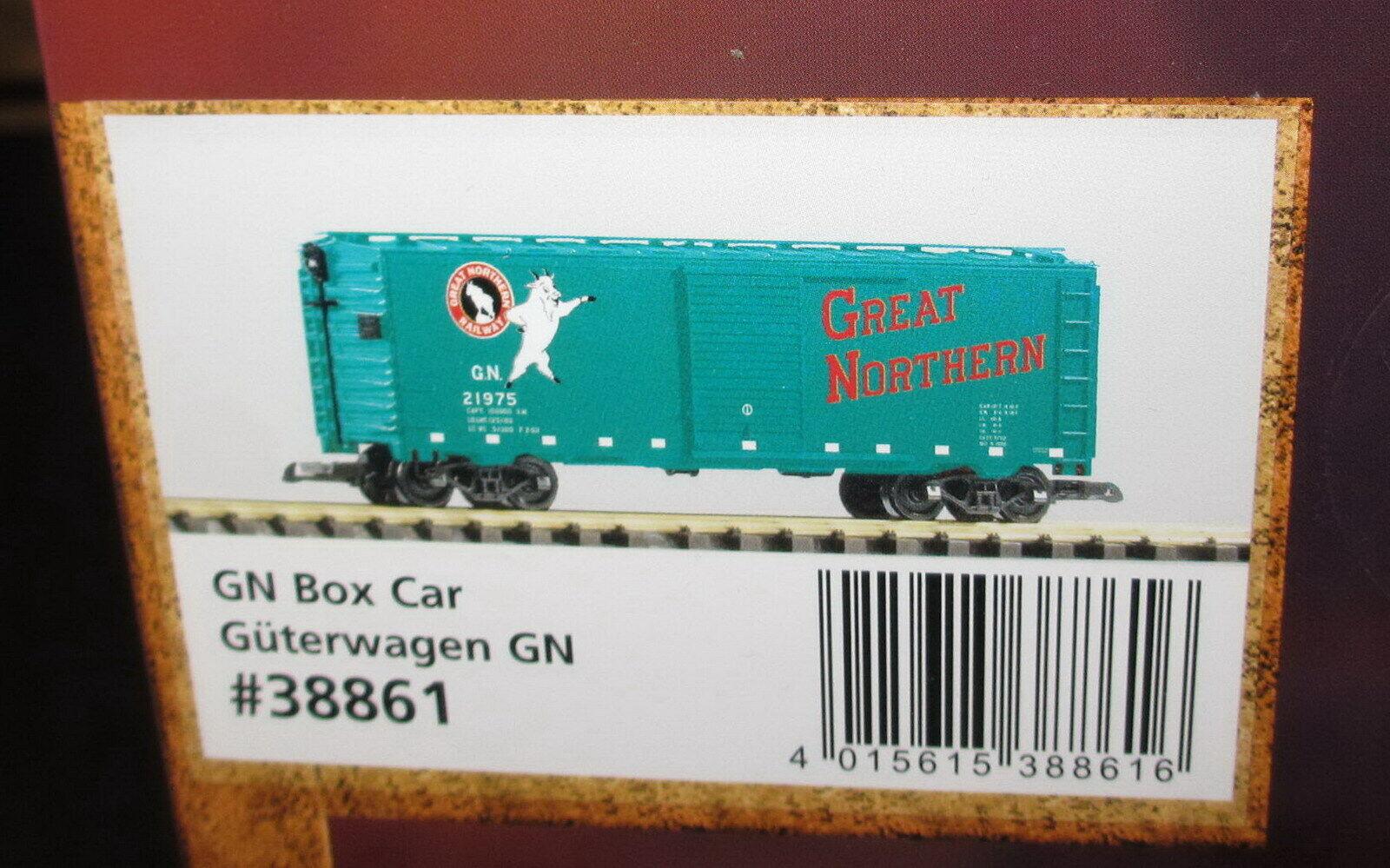 PIKO Traccia G 38861 scatolaauto Great Northern Railway GN __ NUOVO