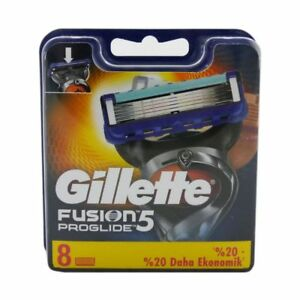 8-Gillette-FUSION5-PROGLIDE-8-Stueck-Rasierklingen-Klingen-in-OVP-XL-PACK