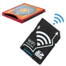 NEW SD SDHC SDXC WIFI Eye-fi SD to Type II CF Adapter + SDHC WiFi Adapter