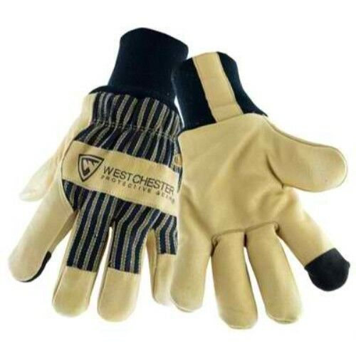 X-Large Beige//Black West Chester Holdings 97900//XL Pigskin Palm Glove