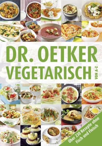 1 von 1 - Vegetarisch von A-Z von Dr.Oetker (2012, Gebundene Ausgabe)