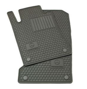 Oem genuine mercedes benz gray all season floor mats for for Mercedes benz ml350 rubber floor mats